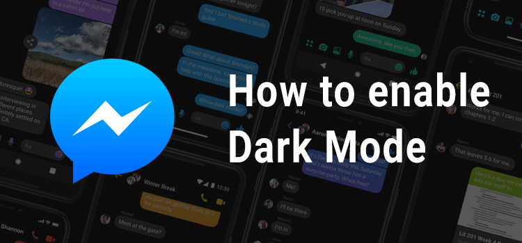 How to enable Dark Mode in the Messenger App
