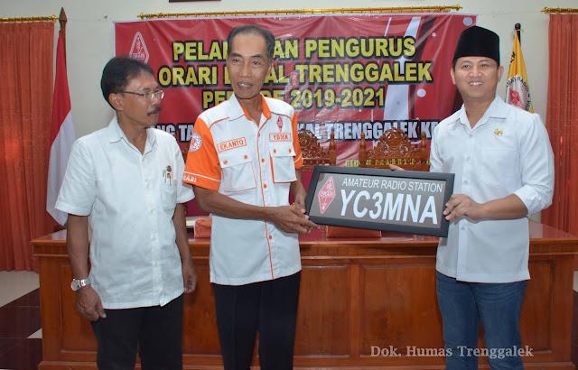 Pengurus ORARI Lokal Trenggalek Dikukuhkan, Wabup Arifin Jadi Warga Orari