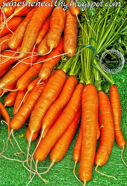 Carrots are widely used vegetable.