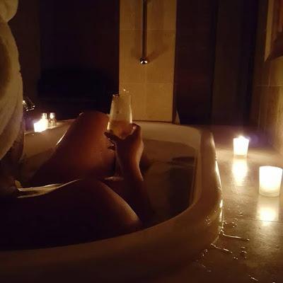 Nollywood star Omotola Jalade-Ekeinde shares sexy bathroom photo
