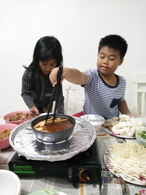 Family trip : Steamboat di Cameron Highland