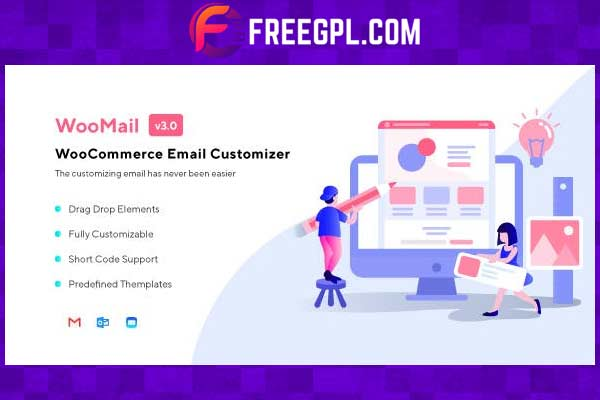 WooMail – WooCommerce Email Customizer WordPress Plugin Free Download