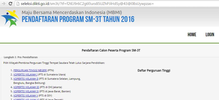 Ingin Jadi Guru Ikuti Program Sm 3t Tahun 2016