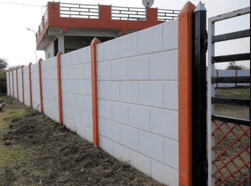 precast compound wall bricks