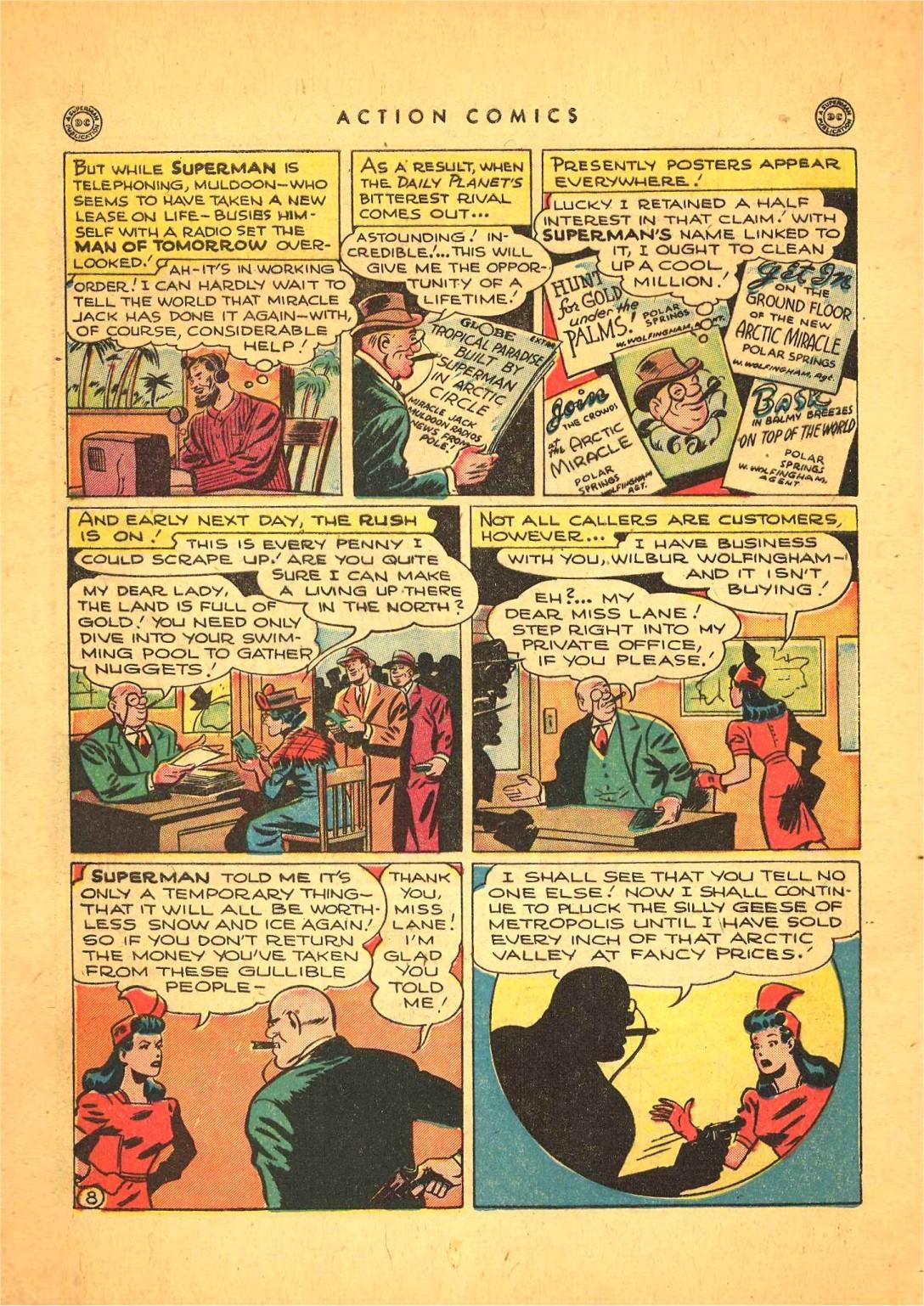 Action Comics (1938) 116 Page 8
