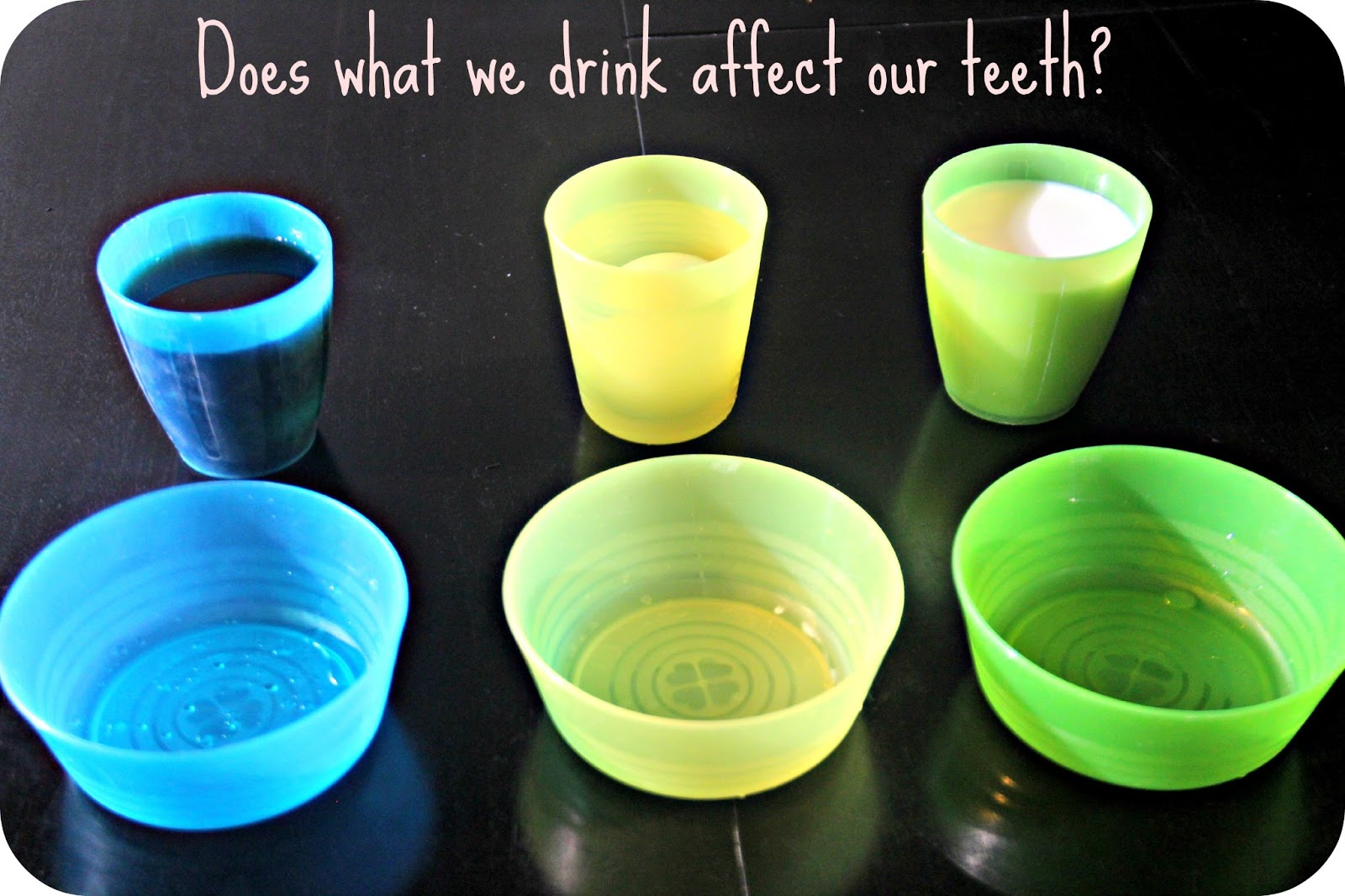 Blue Skies Ahead Do Drinks Affect Our Teeth A Science