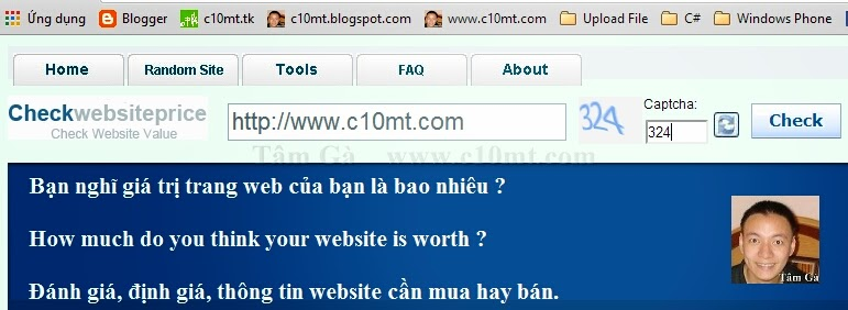 Checkwebsiteprice | How much do you think your website is worth ?