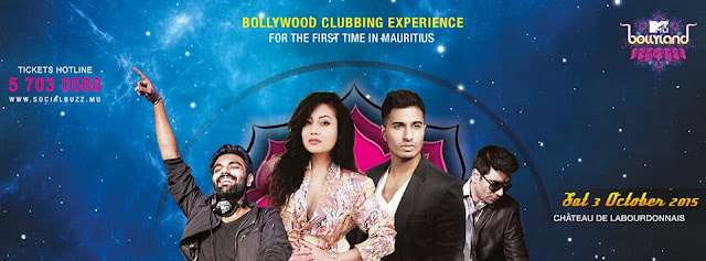 Mtv Bollyland 2015 Season - 3 in Mauritius |Concept |Singers List |Held on 3 October