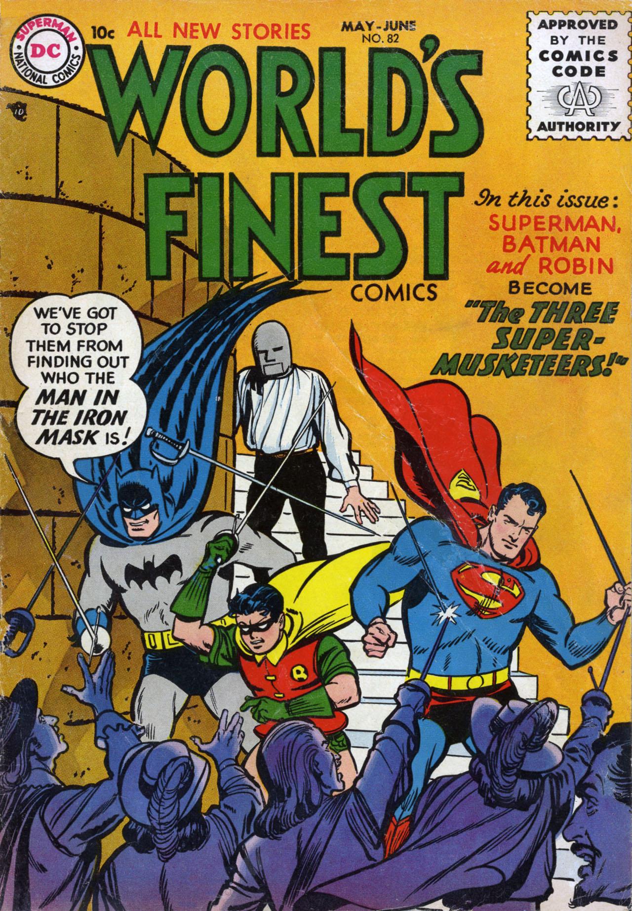 Read online World's Finest Comics comic -  Issue #82 - 1