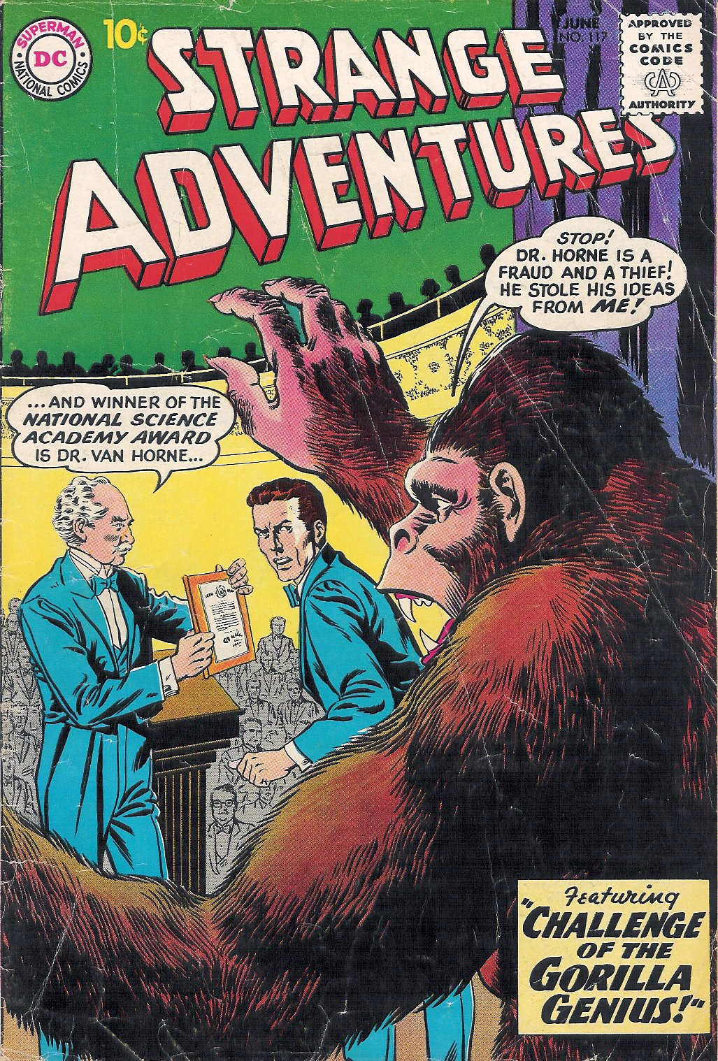 Strange Adventures (1950) issue 117 - Page 1