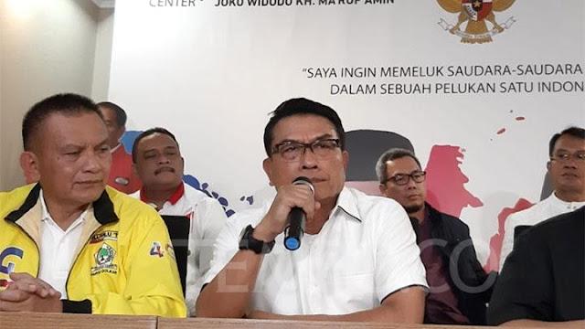 Sampaikan 6 Sikap, TKN Jokowi-Ma�ruf Legawa Jika KPU Menangkan Prabowo-Sandi
