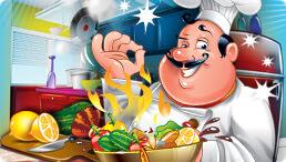 لعبة الطباخة