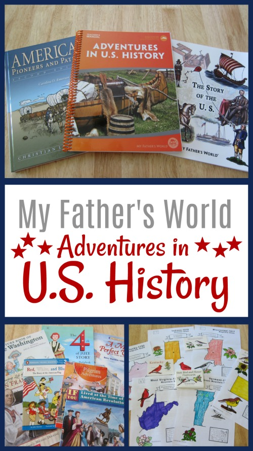 My Experience with My Father's World Adventures in U.S. History #curriculum #homeschool