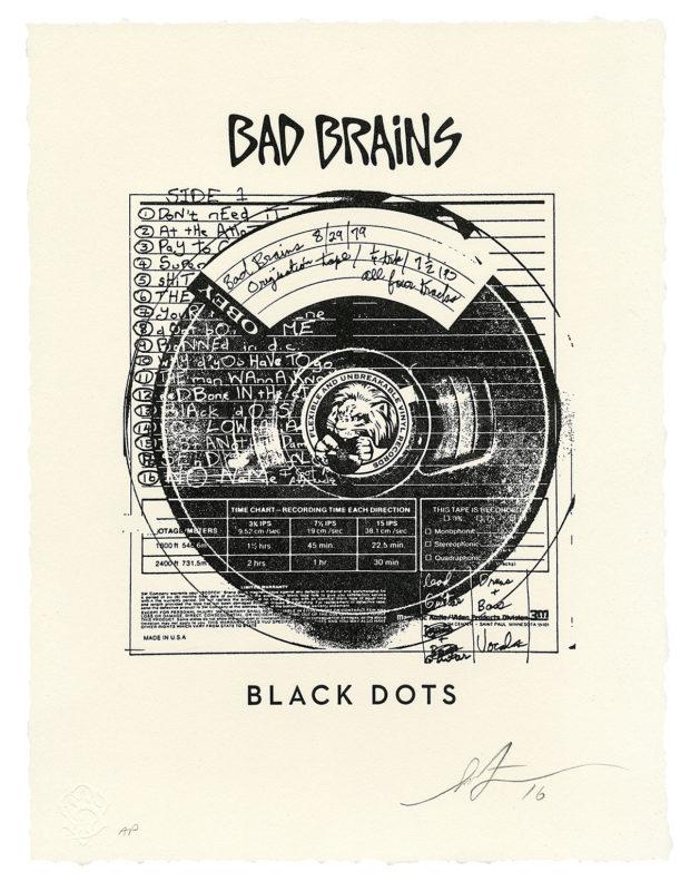 Inside The Rock Poster Frame Blog Shepard Fairey Bad