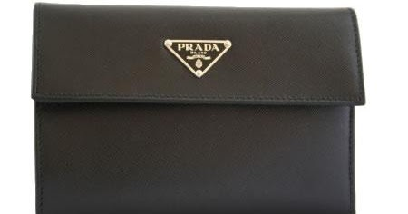 295ceea1a14f 100% AUTHENTIC BRANDS: Prada Wallet Medium Leather M510A Black $230