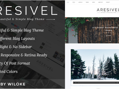 Download Aresivel - A Responsive WordPress Blog Theme Free
