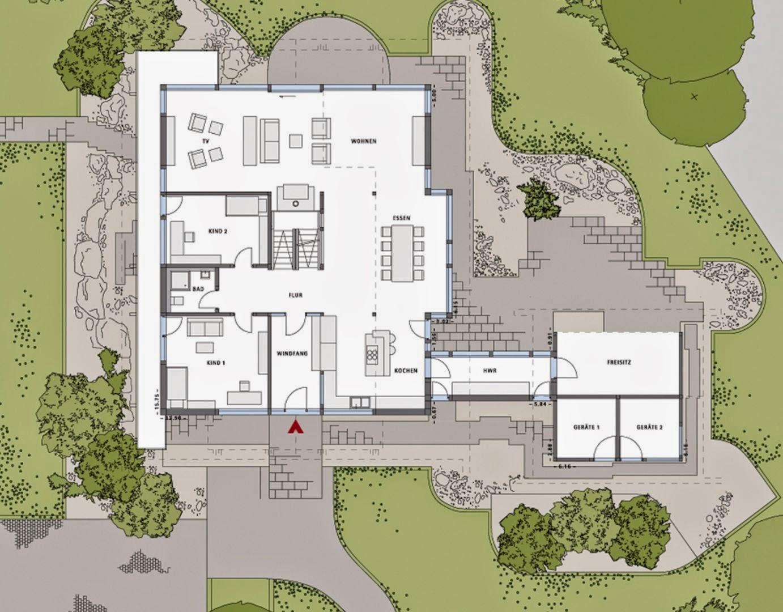 Grundriss Haus Architektenhuser