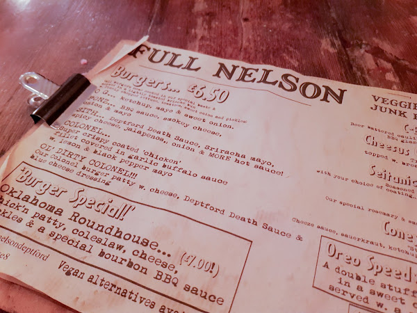FIVE VEGAN THINGS YOU GOTTA ORDER AT THE FULL NELSON