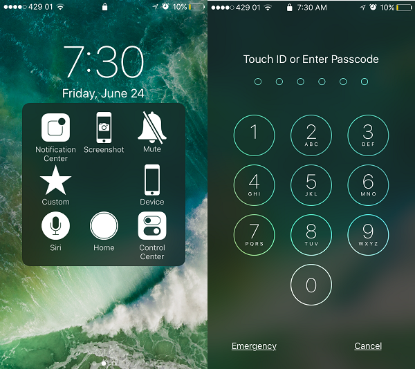 How to Unlock iPhone and iPad without Pressing the Home Button on iOS 10.In iOS 10, you compulsorily have to press the home button to unlock your iPhone or iPad