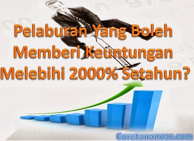Pulangan Pelaburan Melebihi 2000% Setahun
