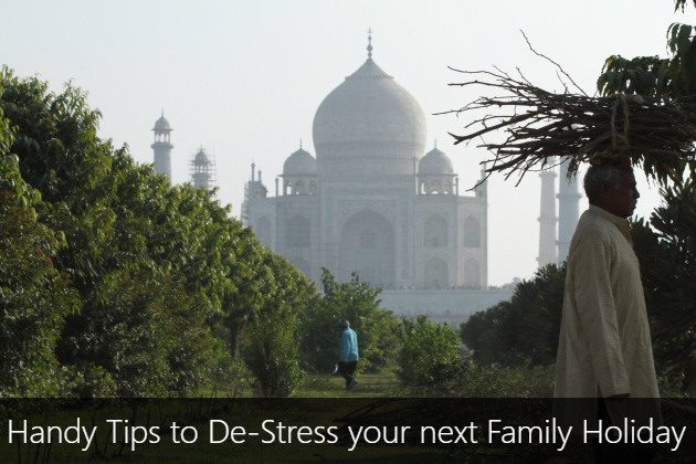 Handy tips to destress your next family holiday