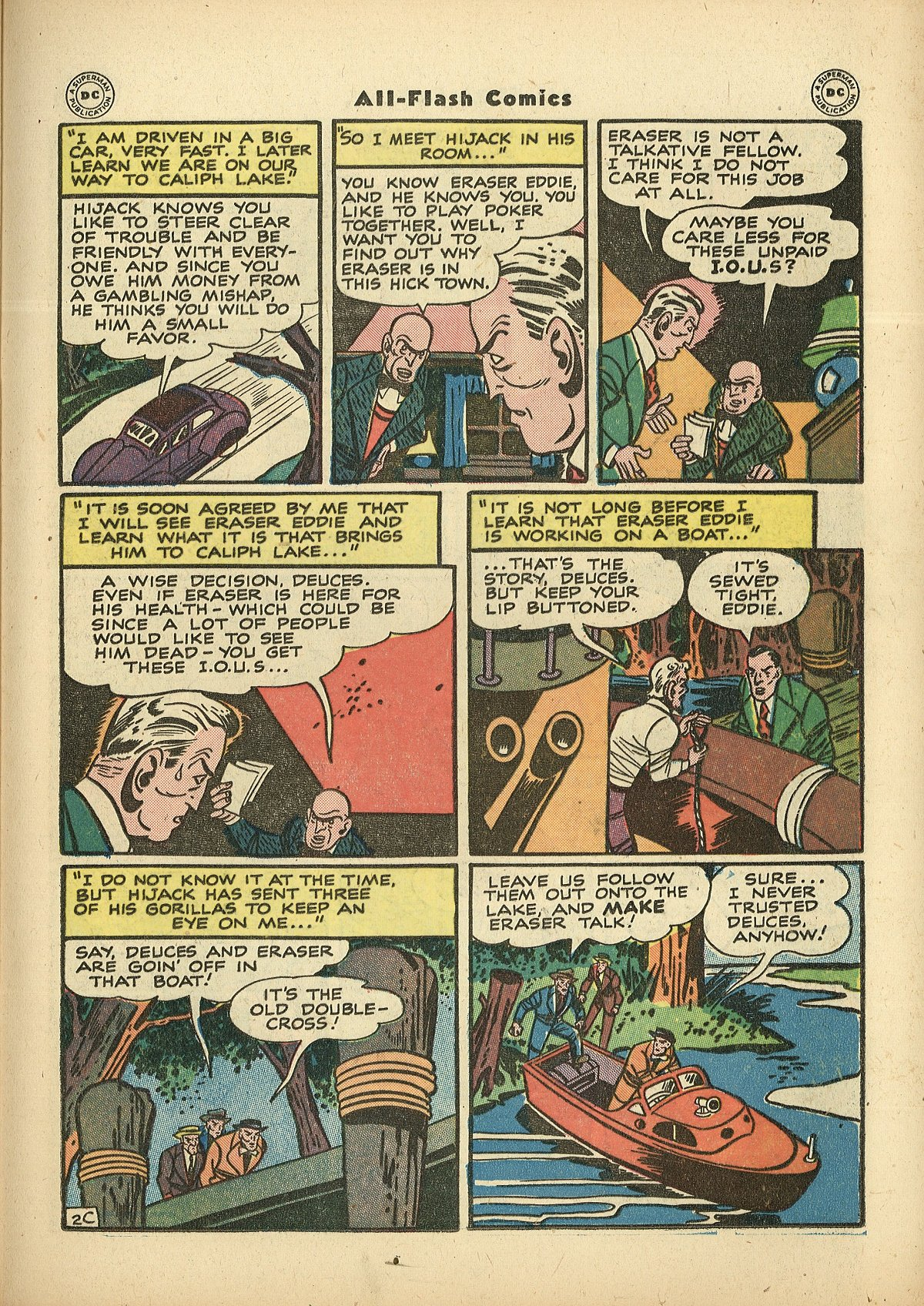 Read online All-Flash comic -  Issue #27 - 31