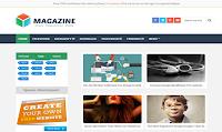 Majalah Blogger Template adalah versi lanjutan selanjutnya dari Template Blogger Organik