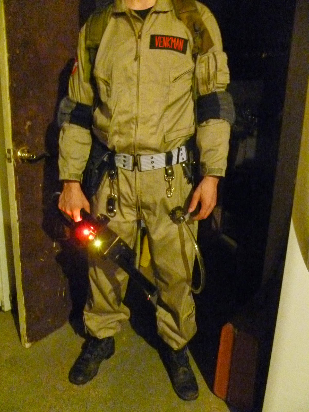 Ghostbuster uniform