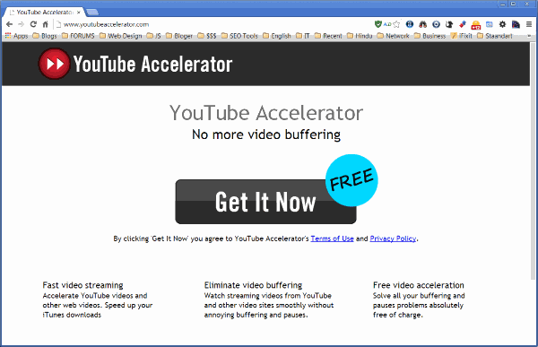 Remove ads by YouTube Accelerator - Virus - En Solucionavirus com