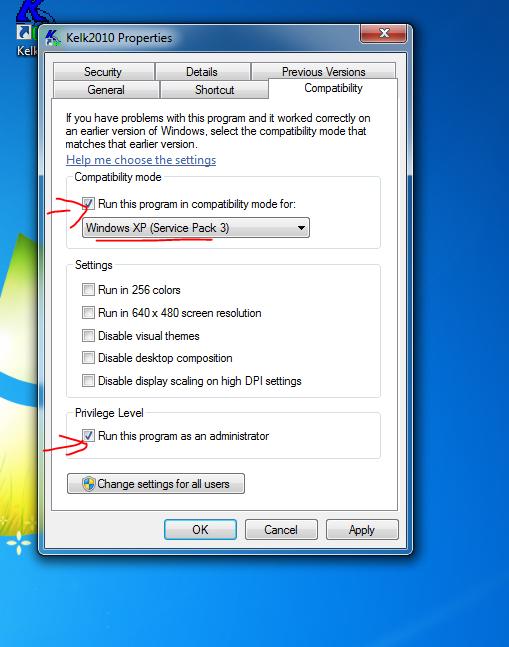 تحميل برنامج الكلك 2010 وحل مشاكل التشغيل على ويندوز7 وويندوز10 - موقع دروس4يو Dros4U