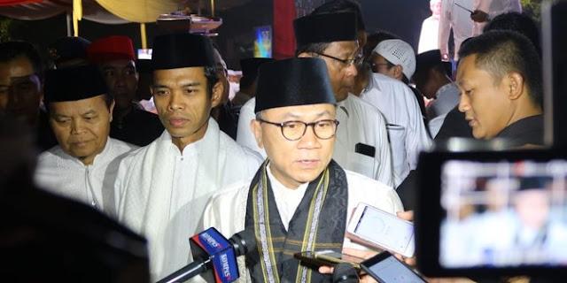 Ketua MPR Zulkifli Hasan Ajak Masyarakat Bela Ustadz Abdul Somad
