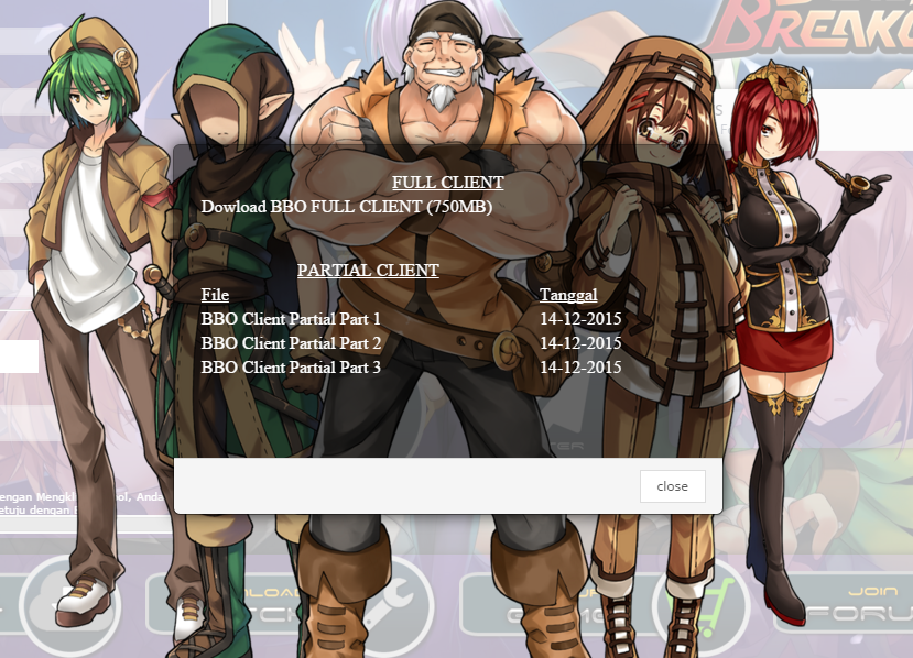Download Client Blast Breaker Online Indonesia