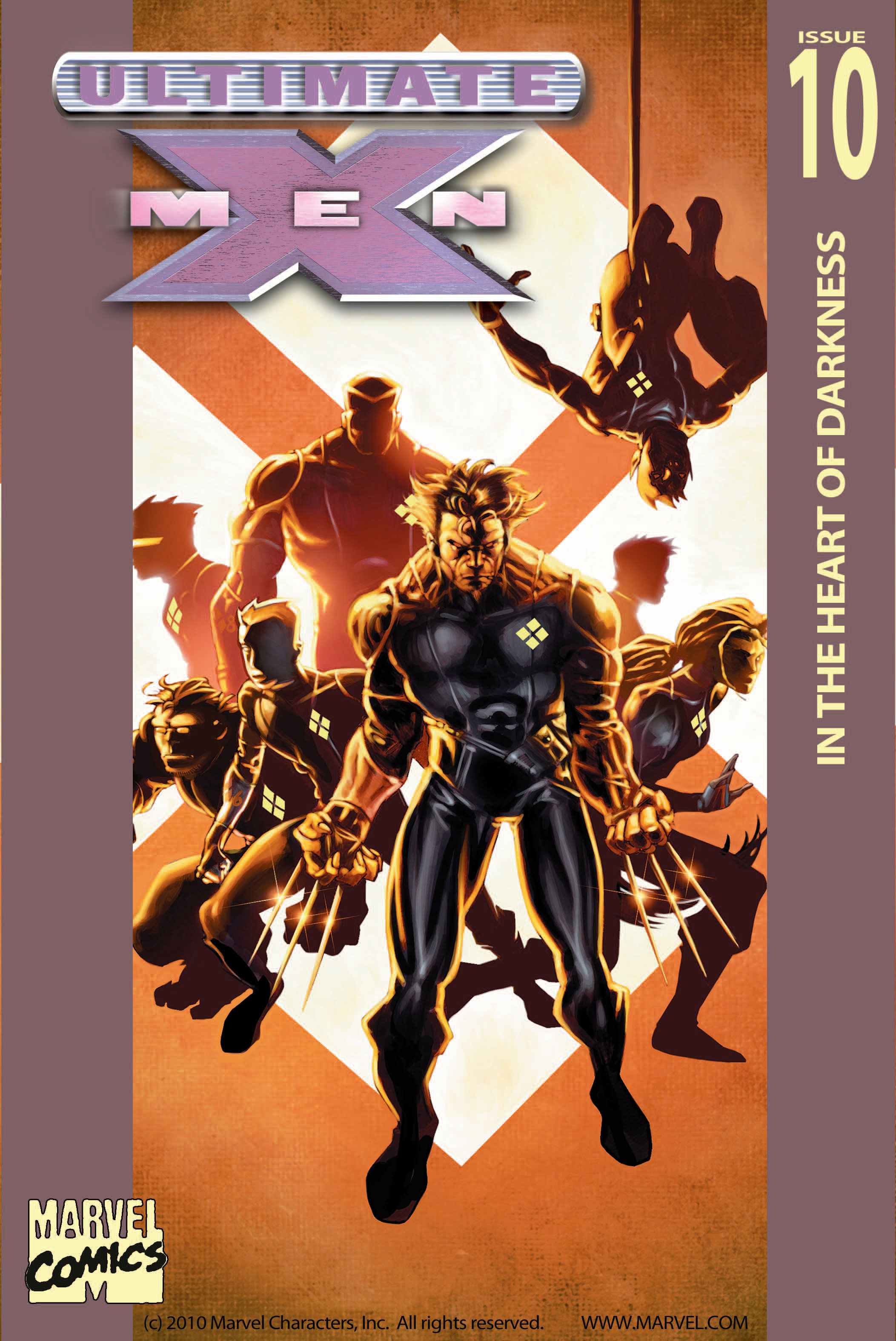 Read online Ultimate X-Men comic -  Issue #10 - 1