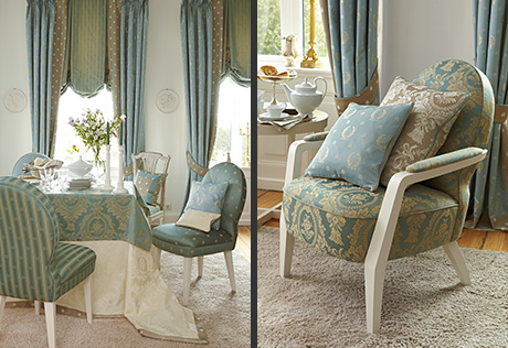 Raziel telas para tapizar y vestir la casa - Telas chenille para tapizar ...