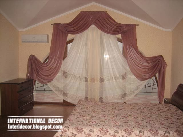 Luxury curtains for bedroom - Latest curtain ideas for bedroom on Bedroom Curtains Ideas  id=22264
