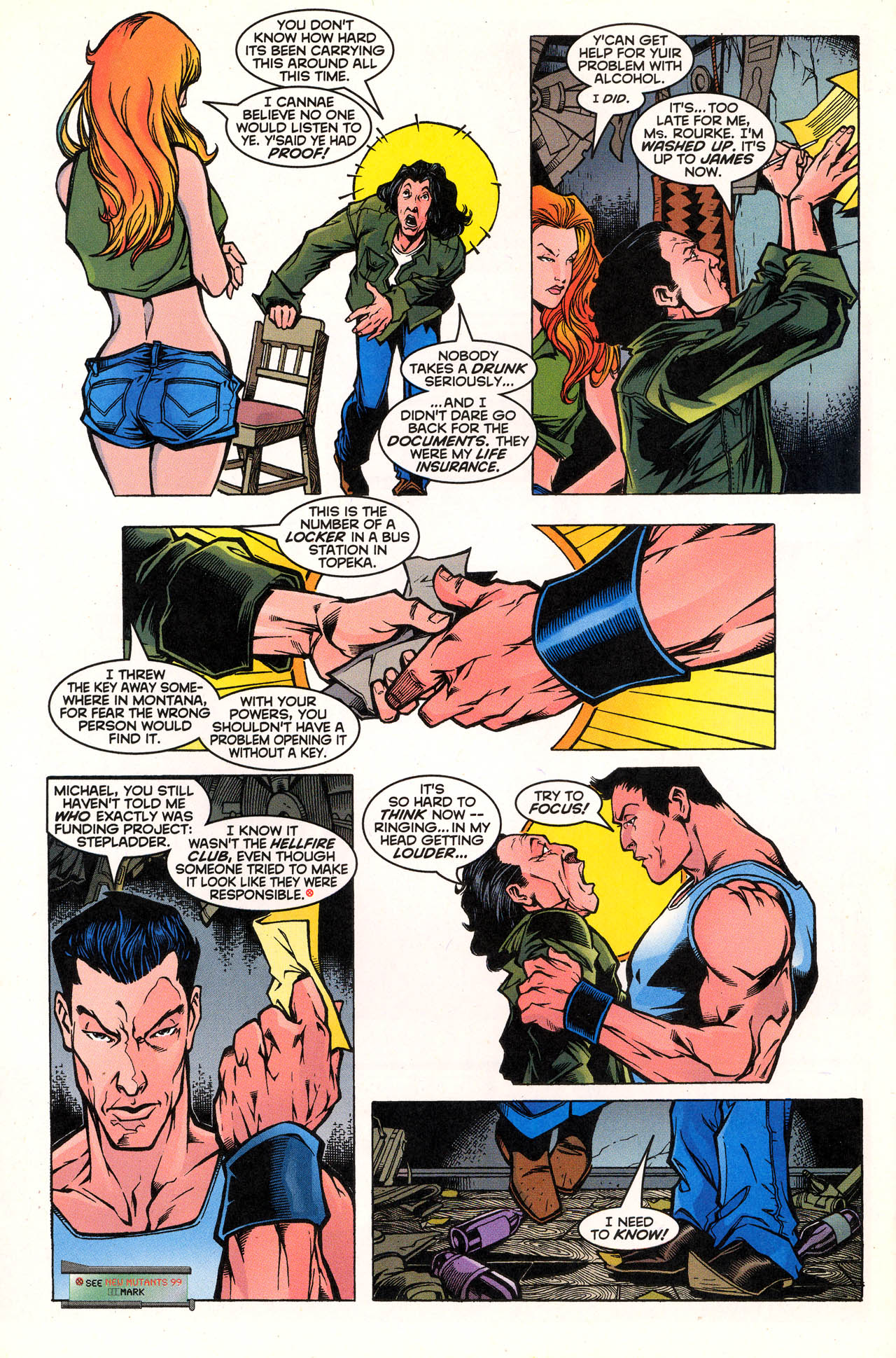 Read online X-Force (1991) comic -  Issue #72 - 25