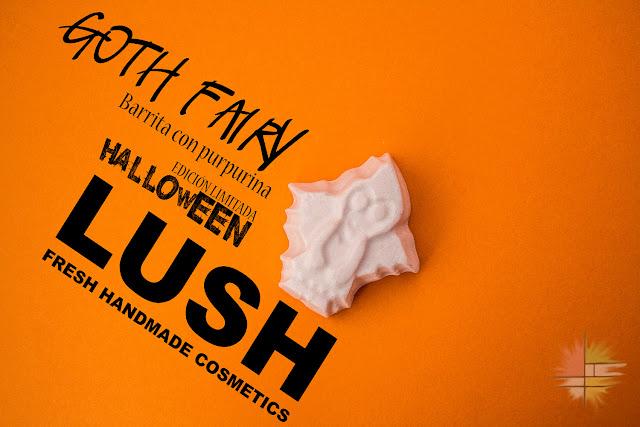 Goth Fairy: barrita de purpurina de Lush, Edición Limitada de Halloween.
