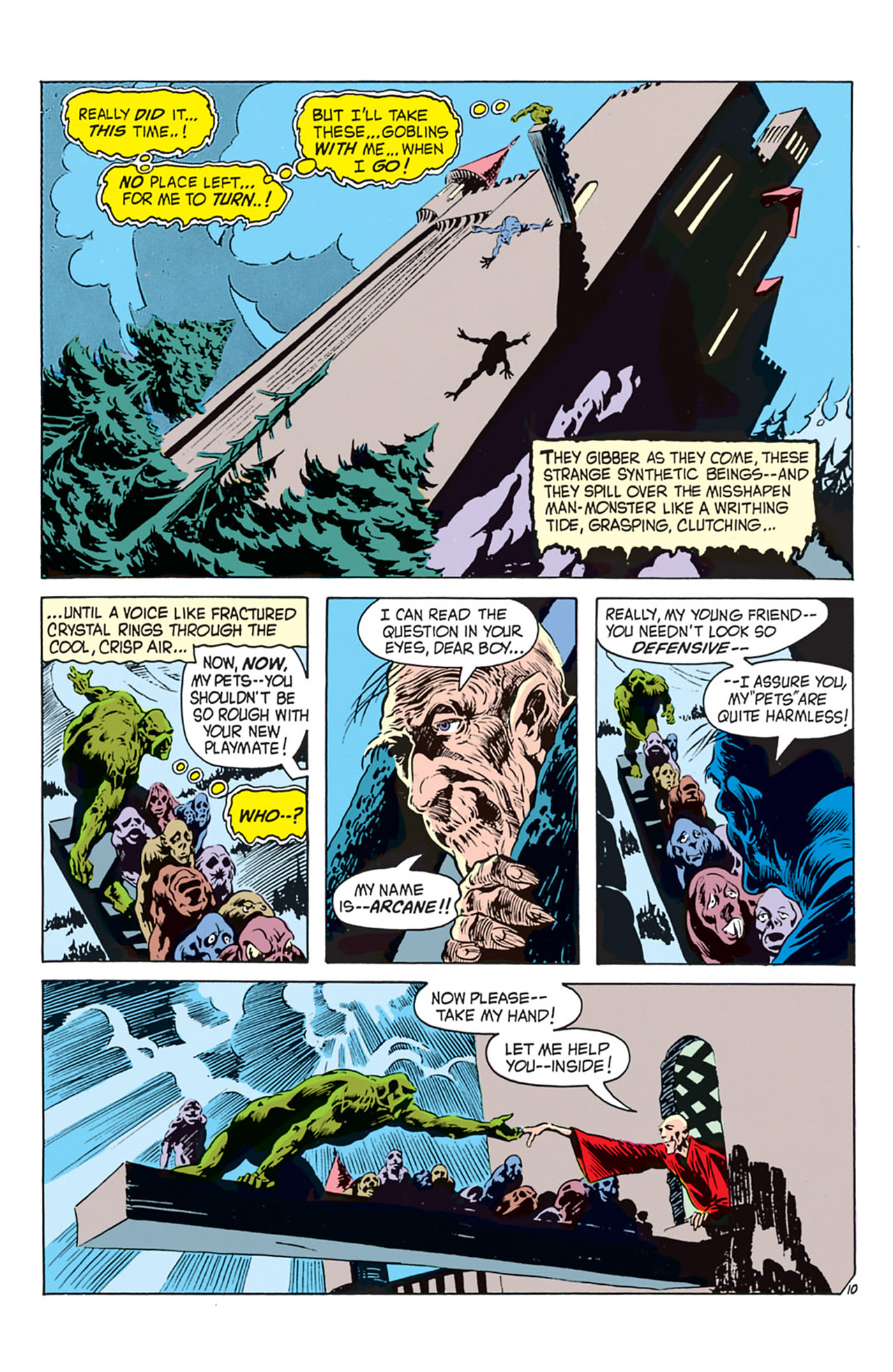 Swamp Thing (1972) Issue #2 #2 - English 11