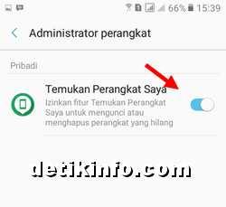 administrator perangkat HP SAMSUNG