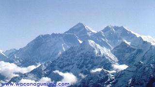 Keindahan gunung Jayawijaya