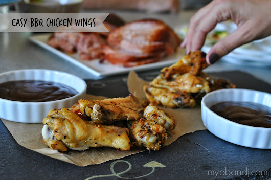 my pb+j: Easy Barbecue Chicken Wings #ChooseSmart #CollectiveBias