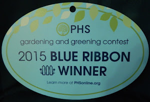 My Award-Winning Garden: The Pennsylvania Horticultural Society Awarded it the Blue Ribbon