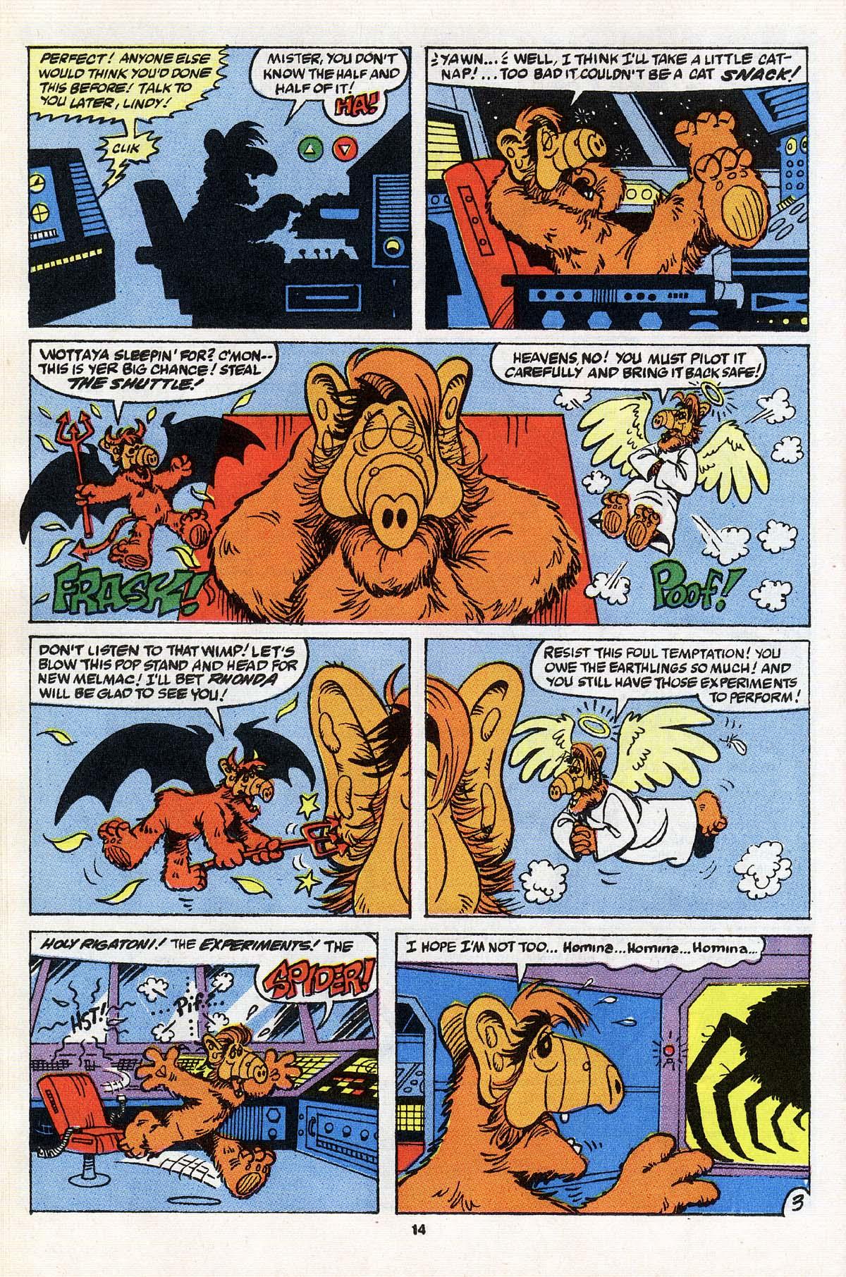 Read online ALF comic -  Issue # _Annual 3 - 13