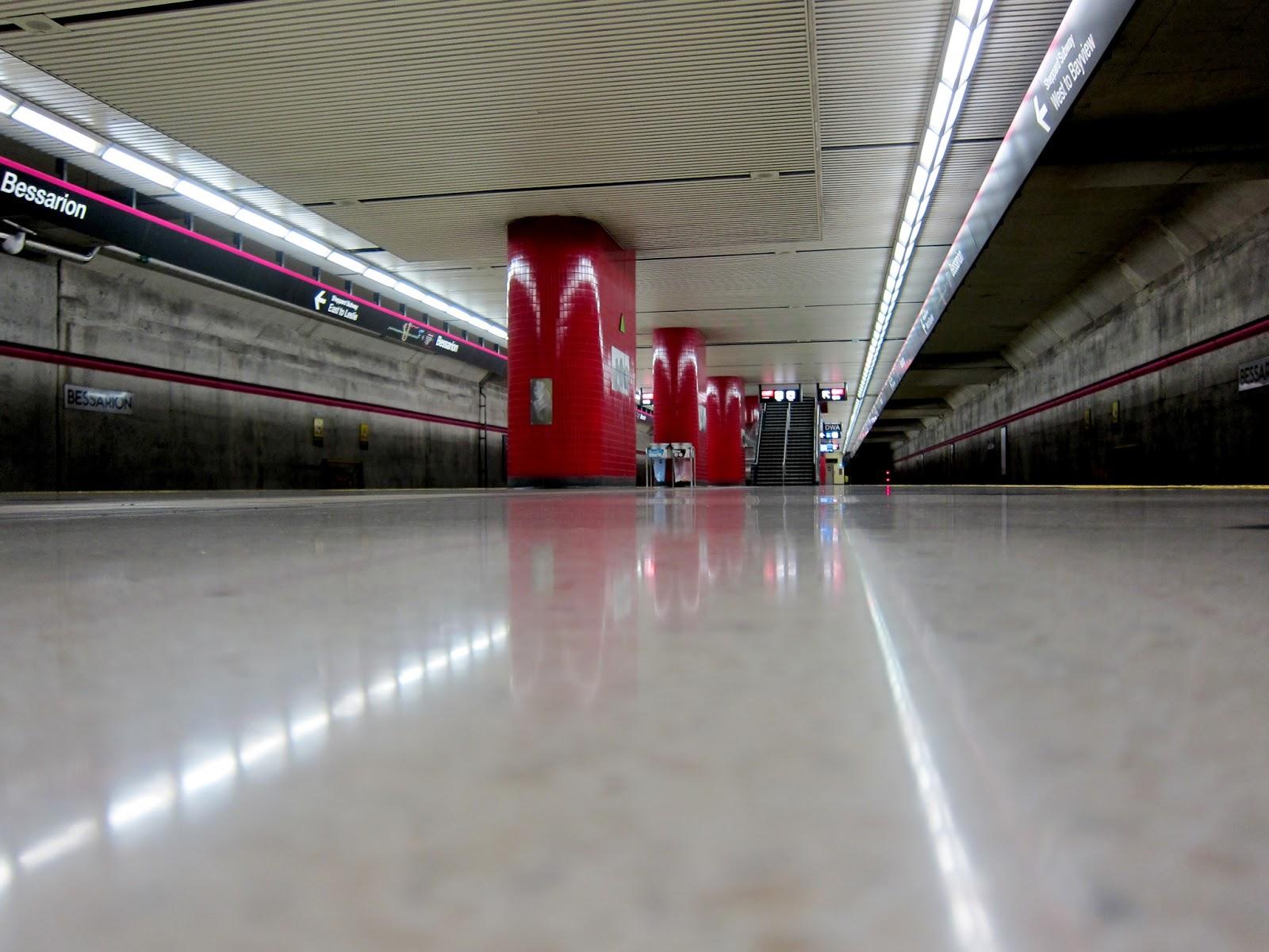 Bessarion station platform