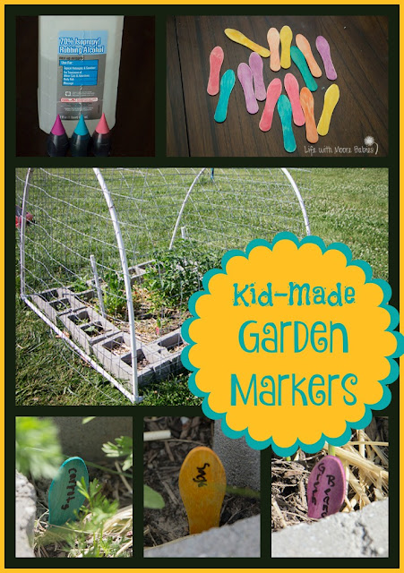 Super Simple Garden Markers Kids can Make in Under an Hour