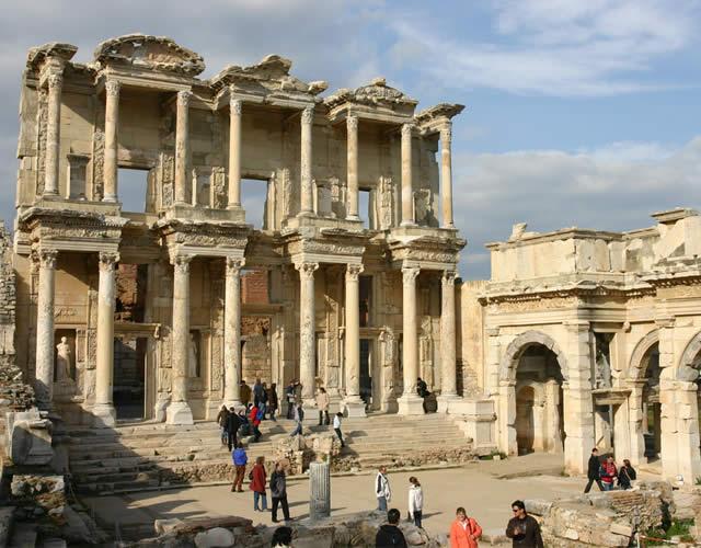 A Biblioteca de Celso - Éfeso, Esmirna, Turquía / Library of Celsus, Ephesus, Turkey