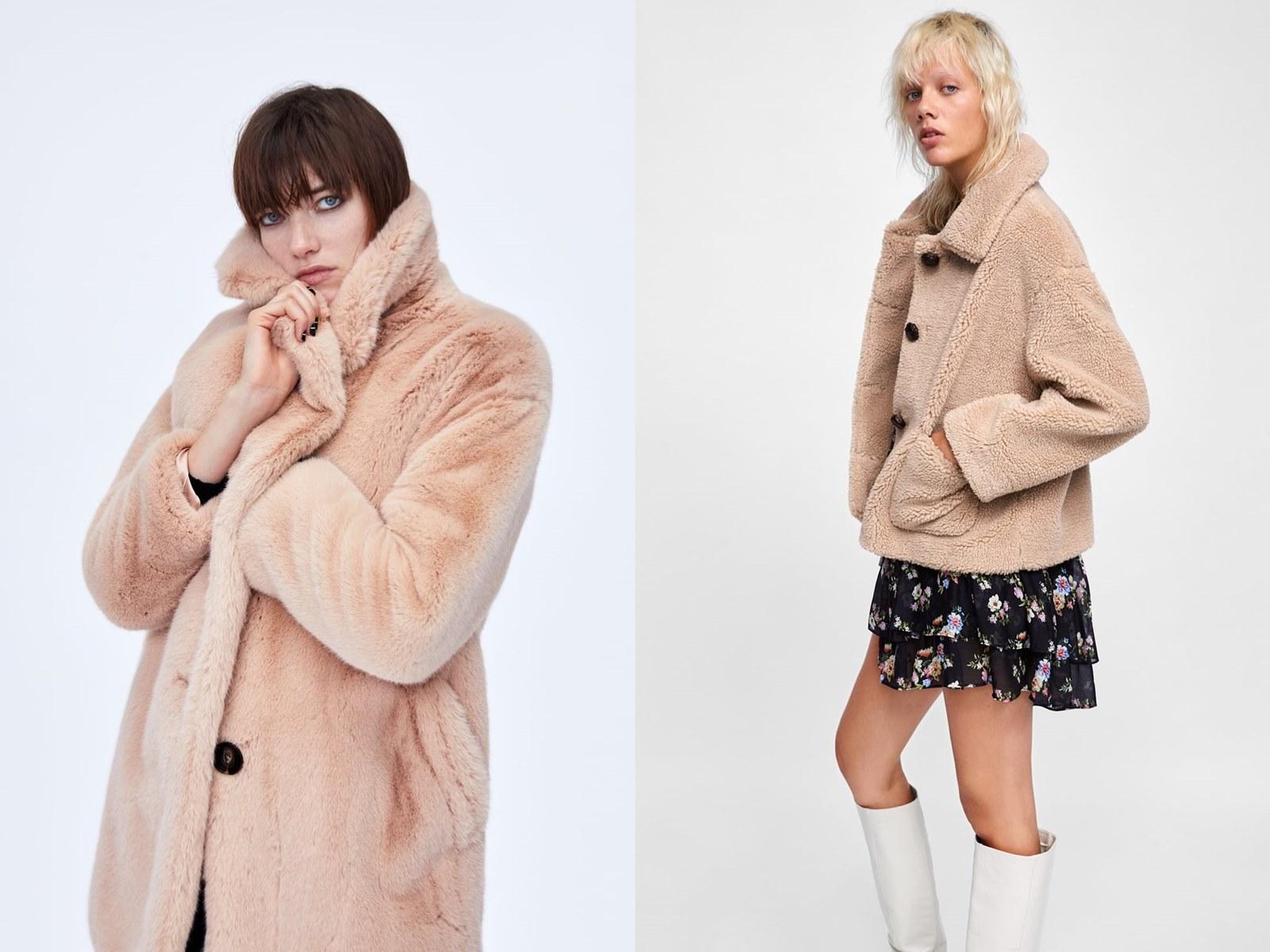 Co nosić zimą, aby wyróżnić się z tłumu? Płaszcz miś, długi, krótki, topshop, zara, street style, teddy coat, jesień 2018, fall 2018, winter 2018, zima 2018, inspiracje, inspiracje na jesień, trendy, trendy na jesień, co modnego jesienią
