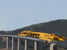 架橋(素材使用)