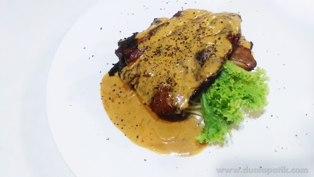 Lamb Chop with Spagetti (RM20.00)