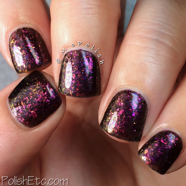 Loaded Lacquer - Beauty & the Beast Mode - McPolish - Gym-timidation